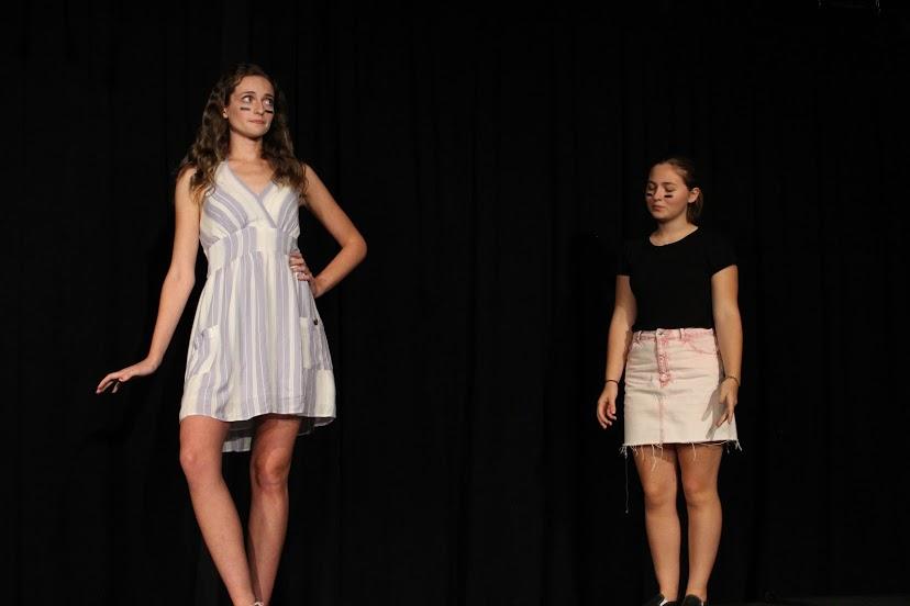 Megan Yarnall and Isabella Marias play