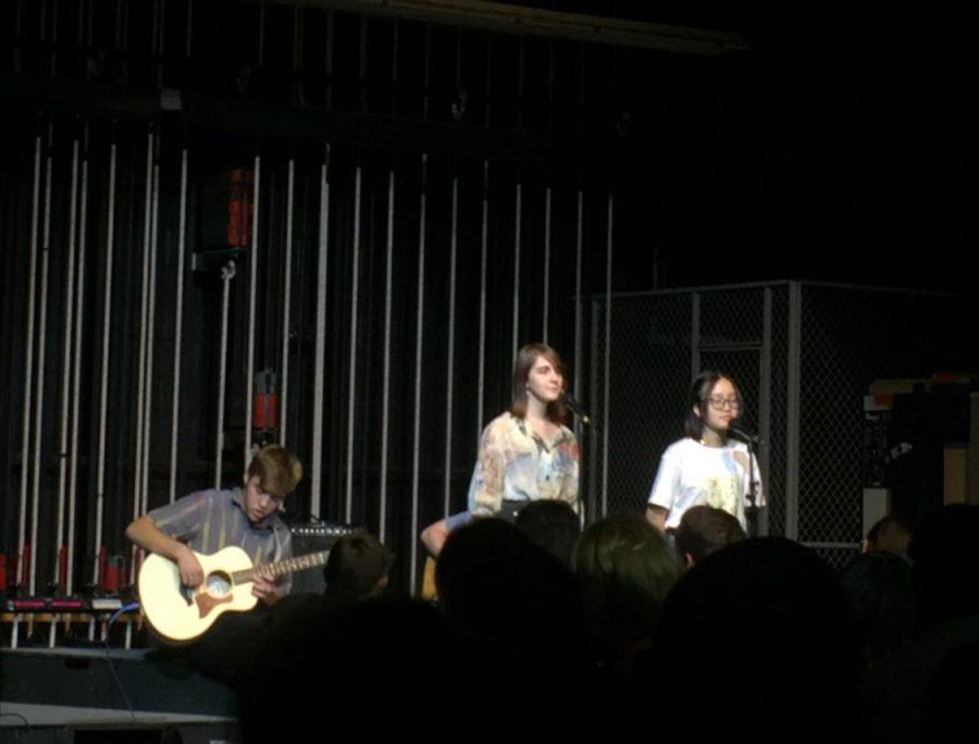 Angelica Martin, Vivian Vo, and Cameron Bertolet
