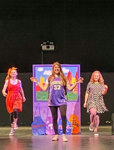 Preparing to tell the most ultimate of stories, Caroline Brinton, Trystan Davenport, and Isabella Marias harmonize in order to show just how great kindness can be.