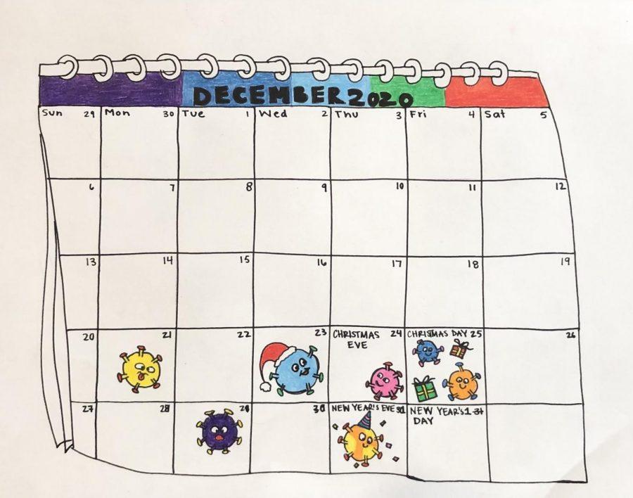 calendar and virus