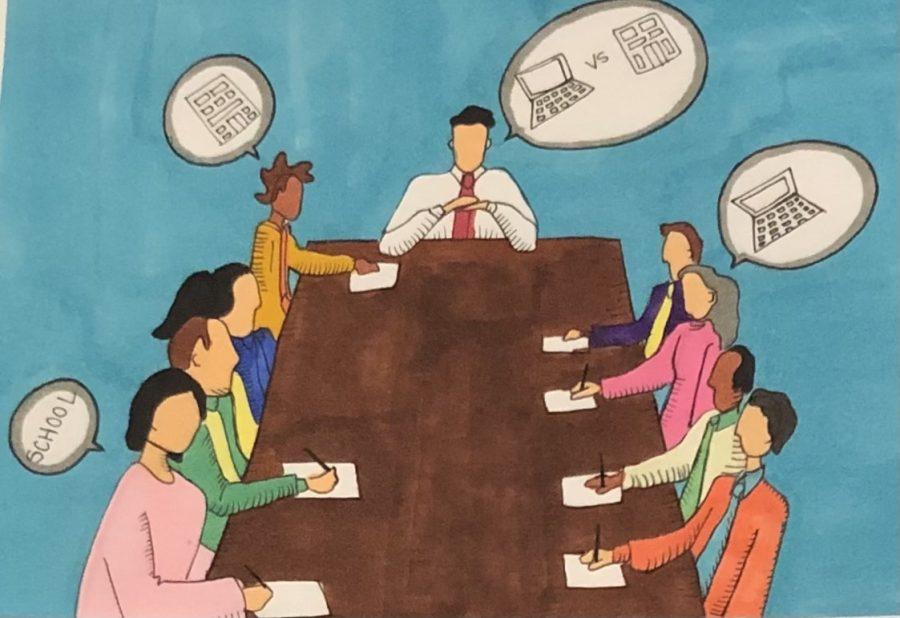 School Board illustration