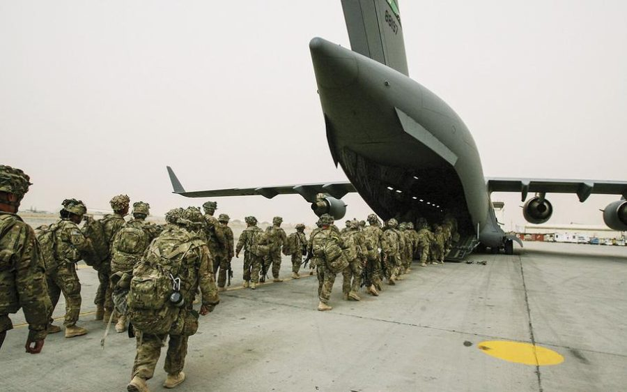 KICKER - The 10th Mountain Division returns to New York from Afghanistan in a C-17 Globemaster from Afghanistan. This issue could develop into a future problem, as more terrorist attacks could happen around the world., writes columnist Brody Roettger. The United States has since sent 3,000 troops back into Afghanistan.